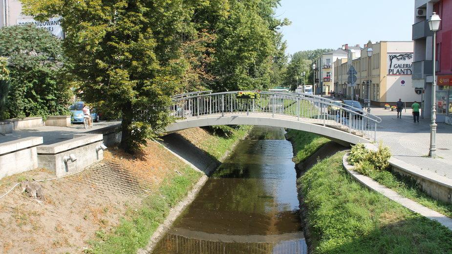 Kielce, rzeka Silnica