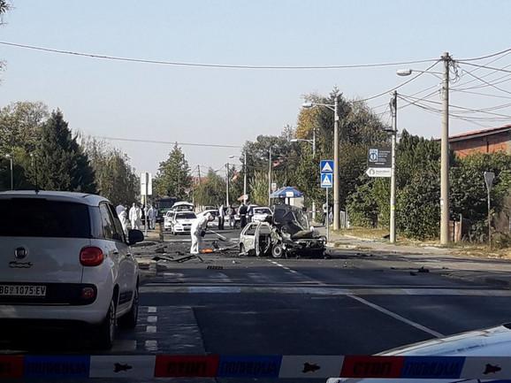 U automobilu se nalazio otac voditeljke Marijane Mićić