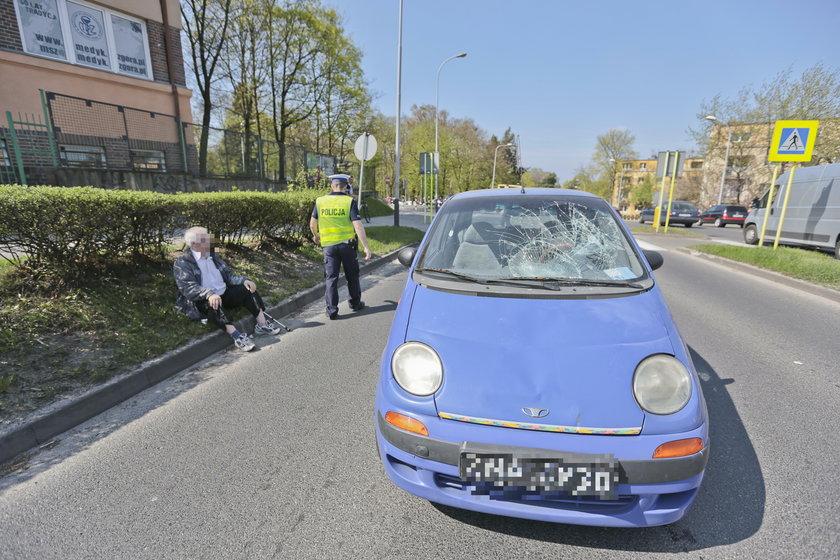 Dwa poważne wypadki na tym samym przejściu