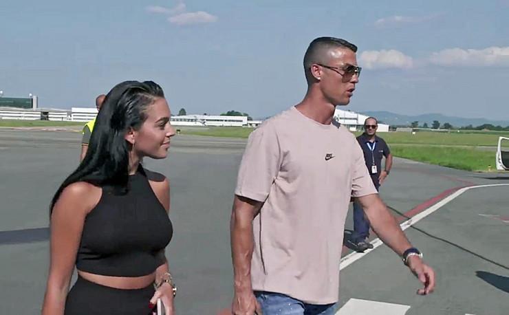 Georgina Rodrigez i Kristijano Ronaldo