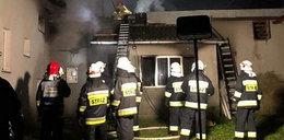 Tragiczny pożar domu jednorodzinnego. Znaleziono ciała dwóch osób
