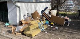 Śmieci zalewają miasto!