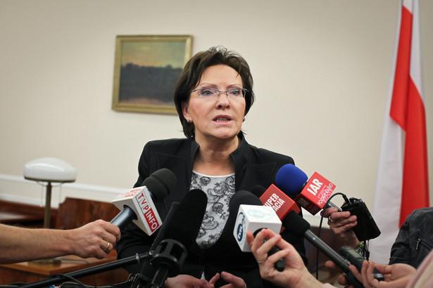 Ewa Kopacz: Jarosław Gowin powinien teraz działać lojalnie