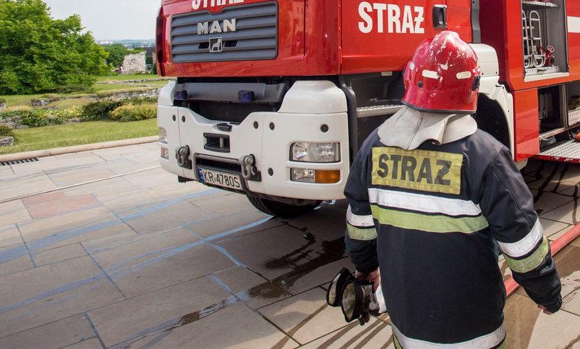 Strażacy-ochotnicy nie otrzymali zgody na wyjazd.
