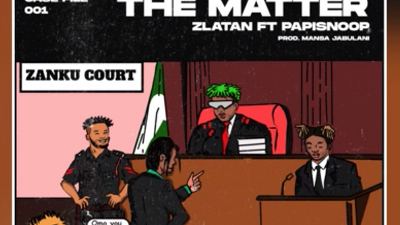 Zlatan features Papisnoop on new single, 'The Matter' and releases tracklist for new 5-track EP. (ZANKU)