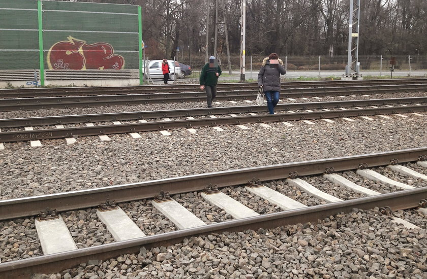 Gehenna pasażerów na stacji PKP Włochy