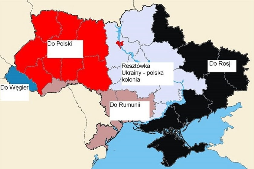 Kreml do Rosjan: Polska chce rozbioru Ukrainy i Białorusi