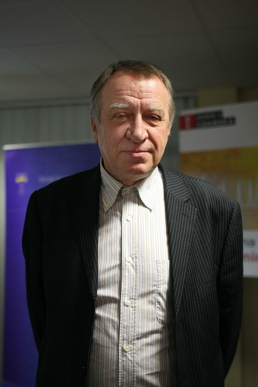 Mieczysław Kotłowski (65 l.), dyrektor GZDiZ