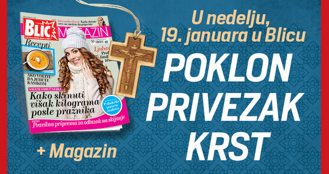 Poklon privezak uz Blic nedelje