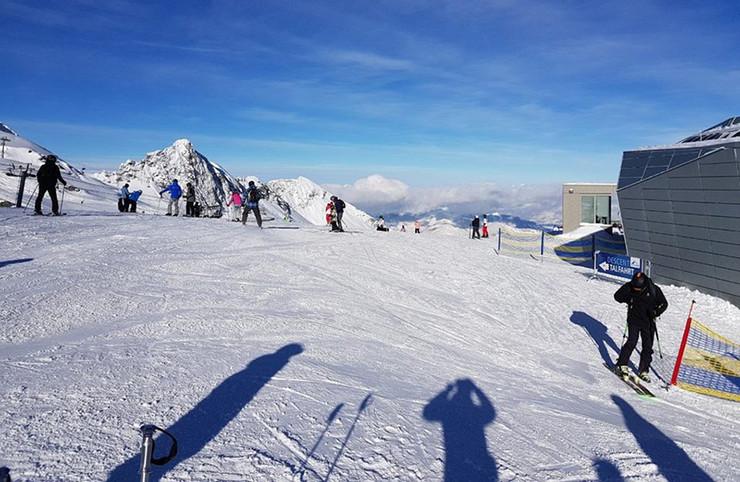 Skijanje nadomak grada