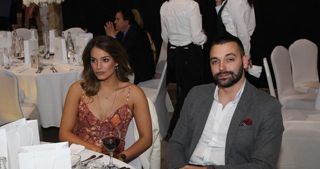 Marina Ćosić sa mužem