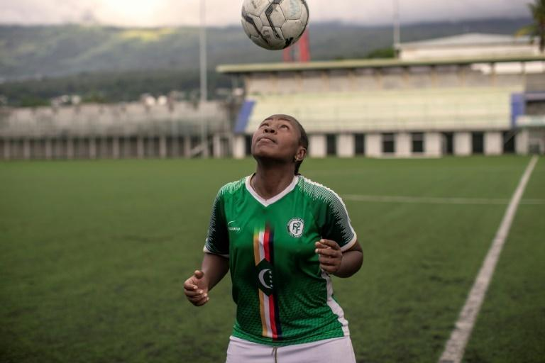 Captain Hairiat Abdourahmane is nicknamed Maradona by her teammates