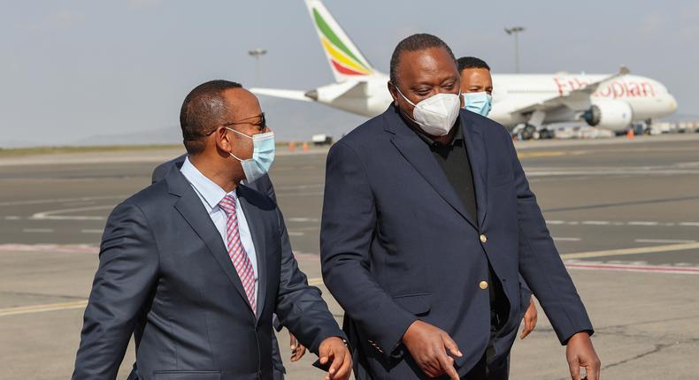 Why Uhuru has made a quick trip to Ethiopia