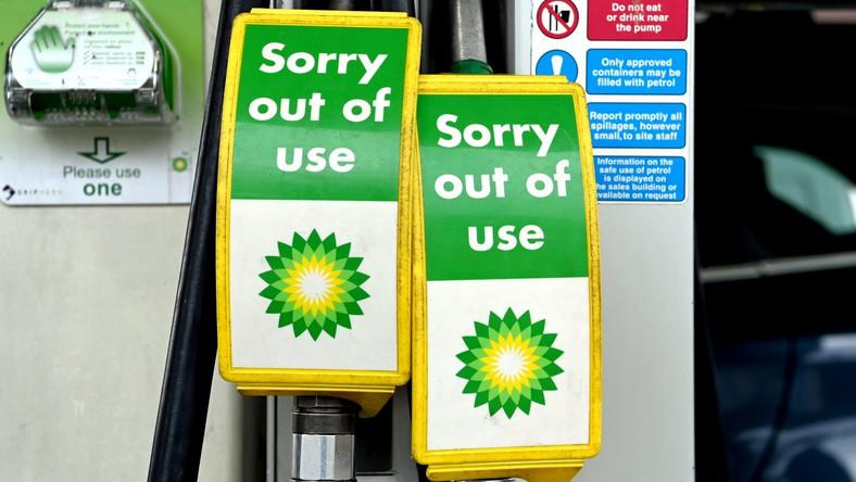 Wielka Brytania zmaga się z brakiem paliwa przez brak kierowców ciężarówek