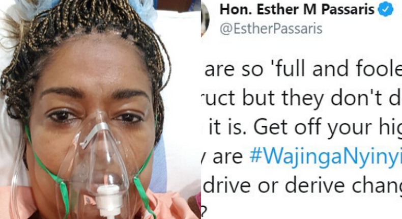 Kindly log off social media - Busia Woman Rep Florence Mutua now pleads with ailing Esther Passaris