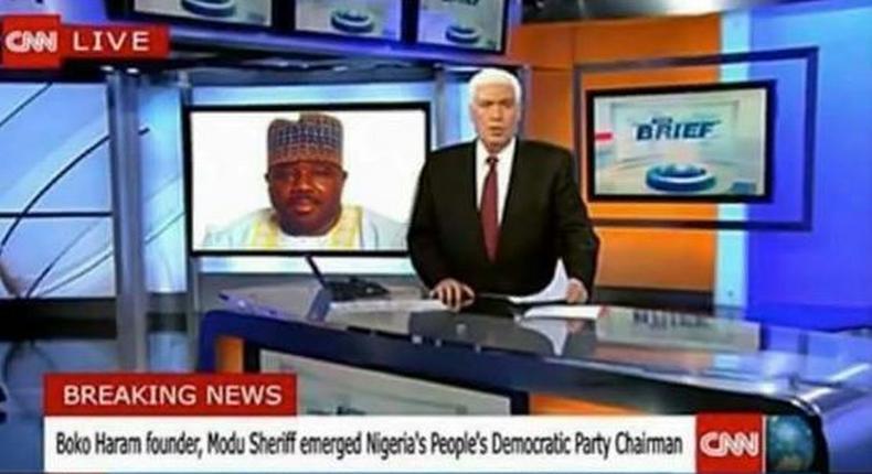 CNN describes Ali Modu Sheriff as Boko Haram Founder