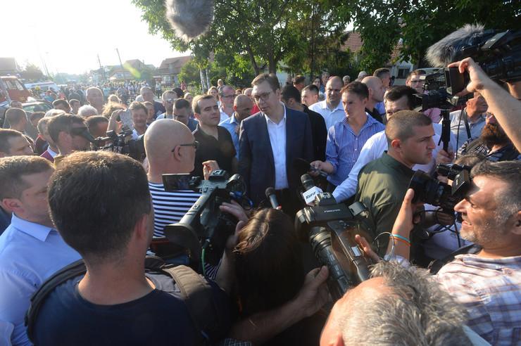 Aleksandar Vučić Kotež foto Tanjug D. Goll