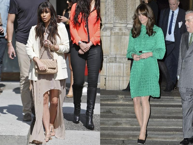 Kim Kardashian i Kate Middleton