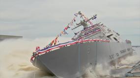 Wodowanie dziewiątego okrętu typu LCS - USS Little Rock