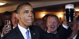 Barack Obama z piwem! FOTO