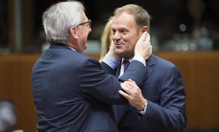 Spór między ludźmi Tuska i Junckera