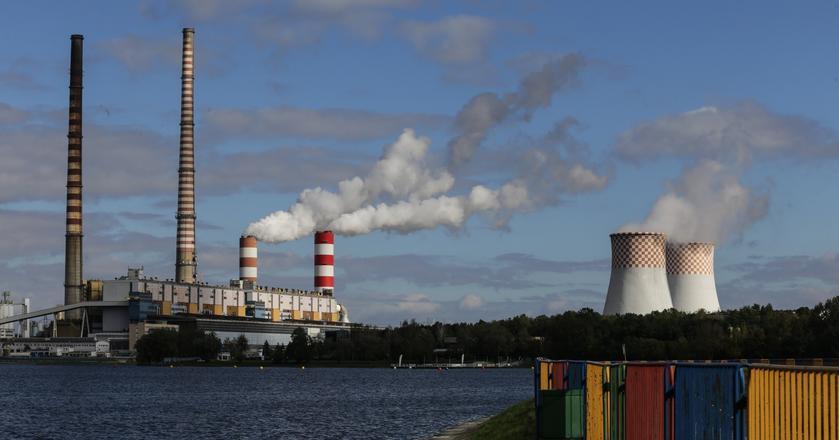PGE wydało serię danych o kondycji spółki po III kw. 2017 r. Na zdjęciu: Elektrownia w Rybniku przejęta przez PGE od EDF