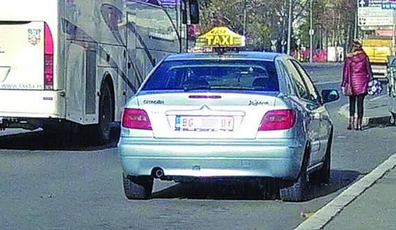 Taksisti bez TX tablica
