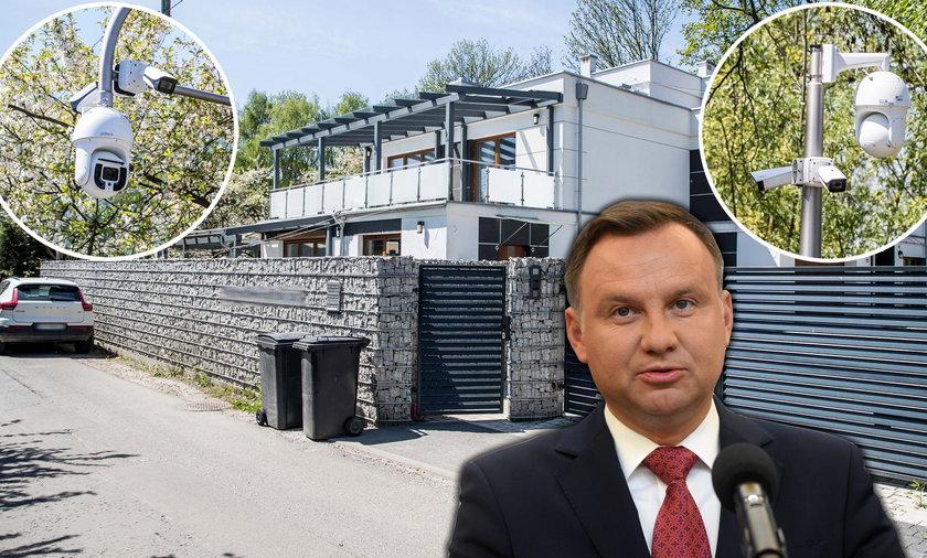 Krakowska willa, gdzie znajduje się apartament prezydenta Andrzeja Dudy