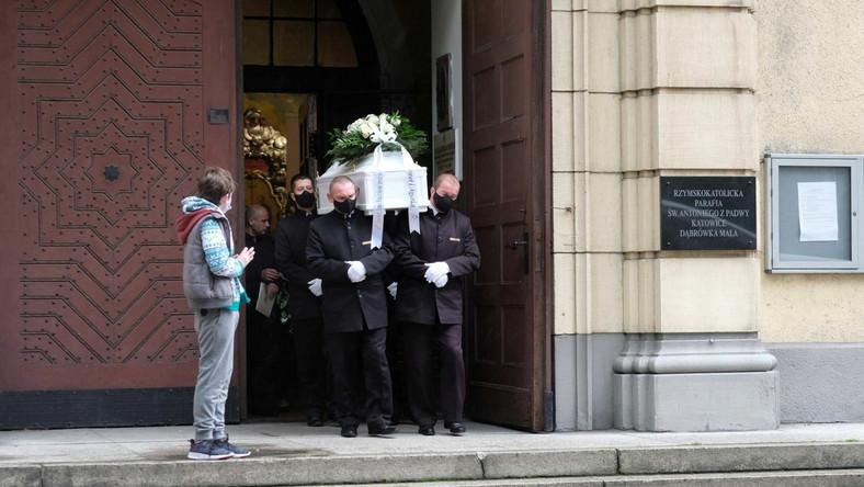 Uroczystości pogrzebowe zamordowanego 11-letniego Sebastiana