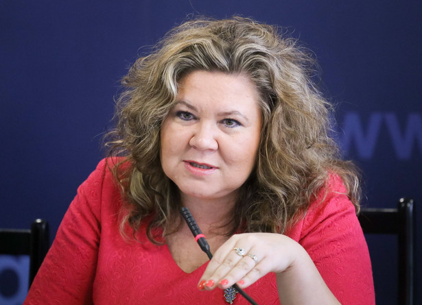 Prezes UKE Magdalena Gaj, PAP/Paweł Supernak