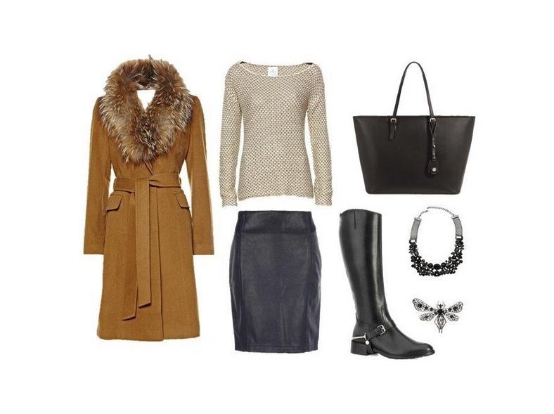 Modna zima w mieście - STYLIZACJE