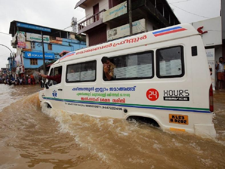 Over the summer, flooding in the Indian state of Kerala killed at least 350 people.
