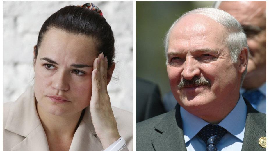 Swiatłana Cichanouska, Aleksander Łukaszenko