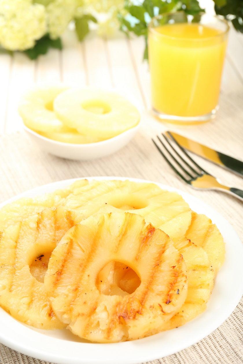 Grilowany ananas