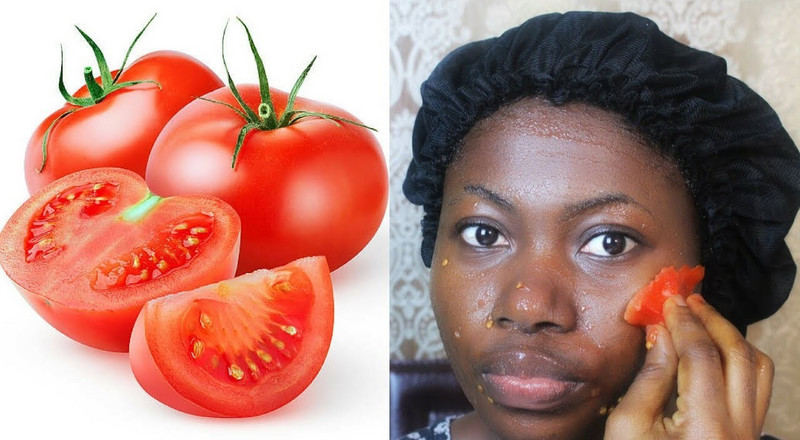 2 ways to lighten the skin naturally with tomatoes