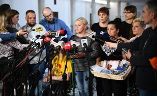 Protestujący w Sejmie: Mamy przygotowany trzeci kompromis. Jesteśmy w stanie zrobić pół kroku do tyłu