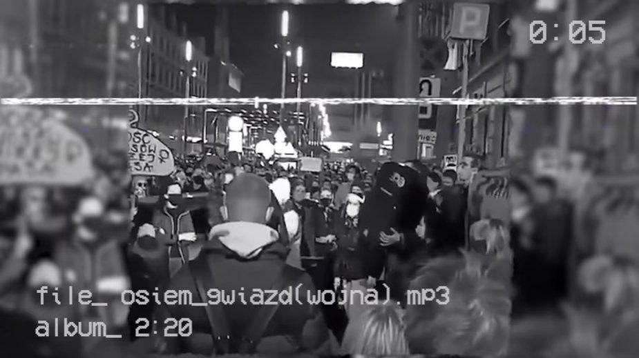 """Karol Krupiak - """"osiem gwiazd (wojna)"""". Skrin"""