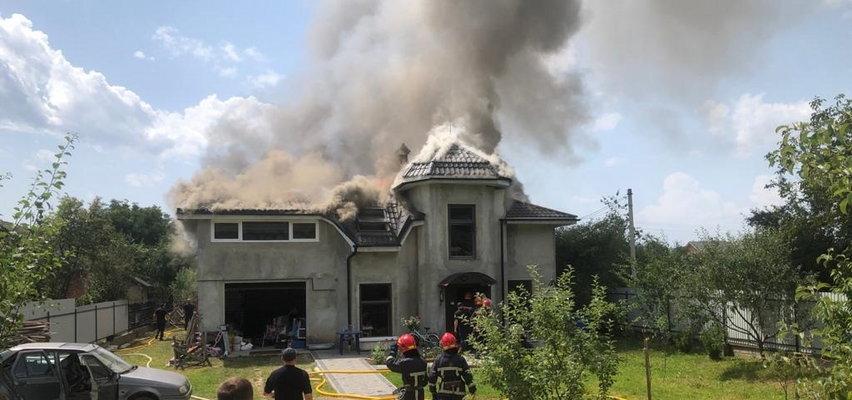 Samolot spadł na dom. Cztery osoby nie żyją