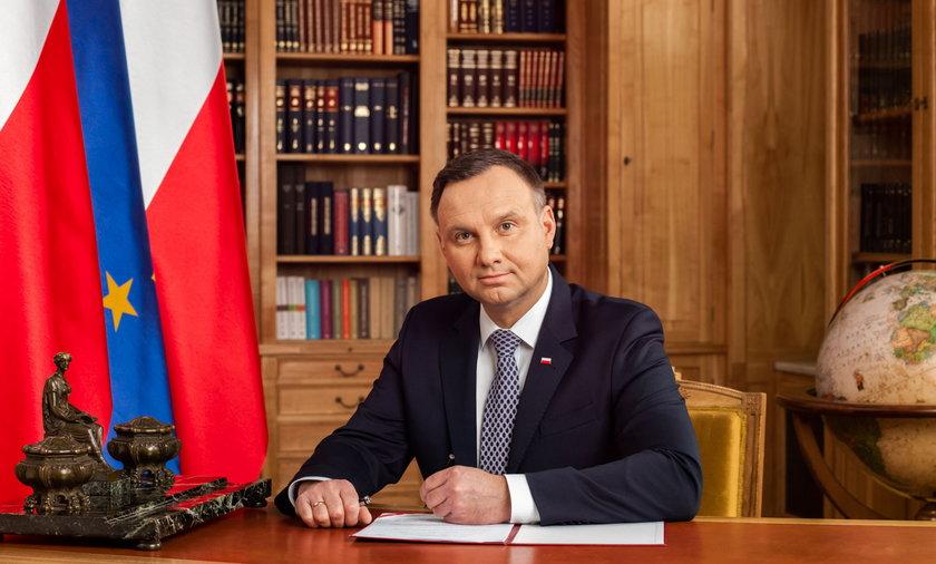 Andrzej Duda o decyzji TSUE, przeciwnikach politycznych i o podpisanej przez siebie ustawie ratyfikacyjnej