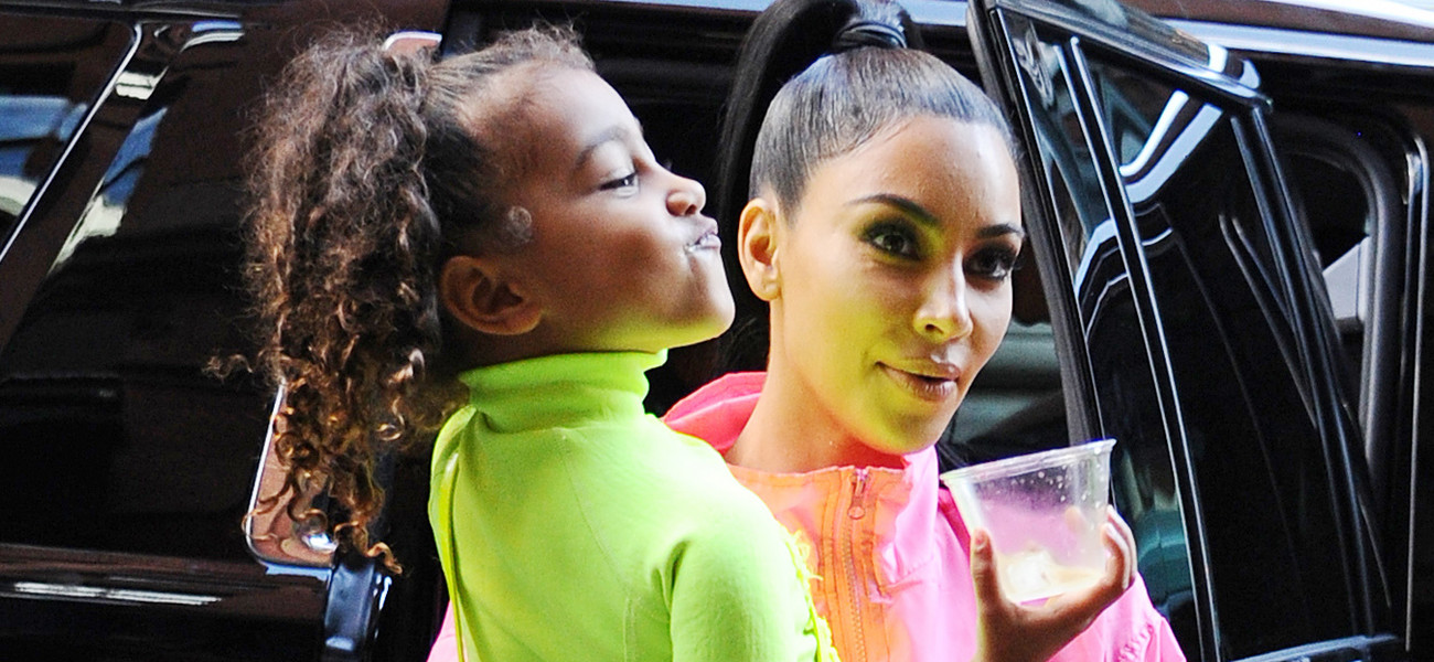 Kim Kardashian i North West / Josiah Kamau / Contributor GettyImages