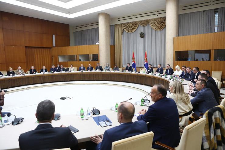 Krizni štab korona Aleksandar Vučić