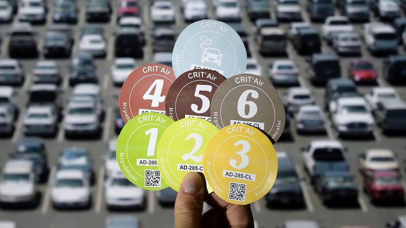 Ekologiczne winiety na wjazd samochodem do Paryża, Lyonu i Grenoble