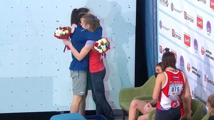 Staša Gejo nakon primljene medalje
