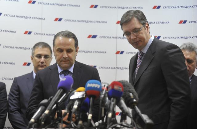Rasim Ljajić i Aleksandar Vučić