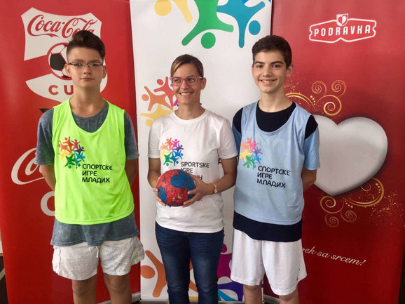 Gostovanje Sportskih igara mladih u Kraljevu