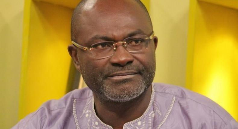Member of Parliament for Assin Central, Kennedy Agyepong.
