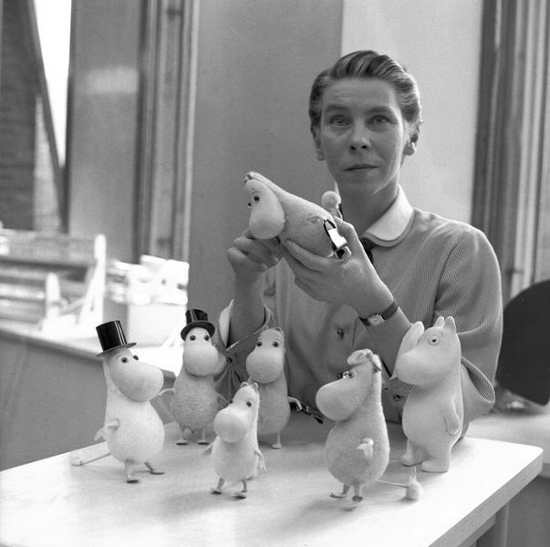 Tove Jansson w 1956 roku