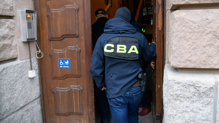 Funkcjonariusze CBA