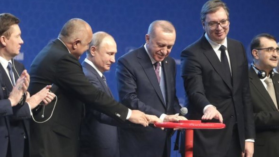 Uroczystość uruchomienia Turkish Stream fot. Kremlin.ru