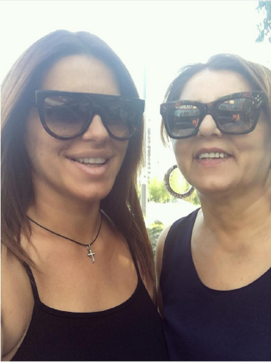 Seka Aleksić i majka Ibrima